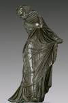 Bronze Statuette of a Veiled and Masked Dancer by Catherine E. Olson