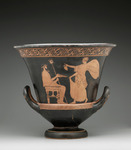 Red-figure Calyx Krater; A: Nike and Poseidon; B: Woman and Old Man by Sabine Schmalbeck