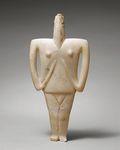3. Marble Female Figure by Celia H. Romani