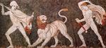 The Lion Hunt, Pella Mosaic (325-300 BCE)