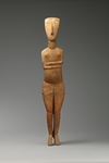 4. Marble Female Figure by Celia H. Romani
