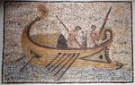 Hellenic Greek Ship Mosaic (1st Century BC)
