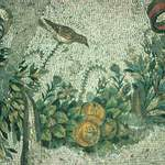 Detail of Mosaic from Palace V, Pergamon (Mid 2nd Century BC) by Jordan Wolfe