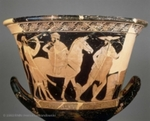 Attic Red-Figure Calyx Krater