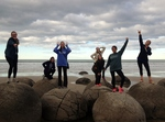 Morakai boulders on South Island