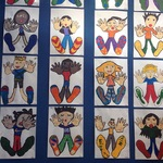 Student mural from Summerland Primary School