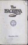 The Isaqueena - 1918, December