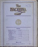 The Isaqueena - 1922, March