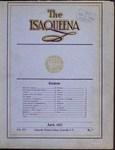 The Isaqueena - 1922, April