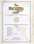 The Isaqueena - 1922, November