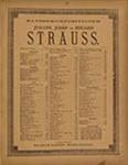 Künstlerleben by Johann Strauss (1824-1899)