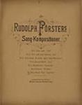 Den förste Viol (Sang-Vals from Sang-Kompositioner) by Rudolf Förster (1861-1895)
