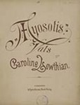 Myosotis Vals by Caroline Lowthian (1860-1943)