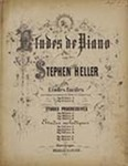 Etudes de Piano by Stephen Heller (1813-1888)