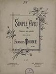 Simple Aveu by Francis Thomé (1850-1909)