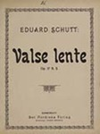 Valse lente by Eduard Schütt (1856-1933)
