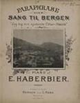 """Paraphrase over Sang til Bergen (""""Jeg tog min nystemte Cithar I Haende"""") by Ernst Haberbier (1813-1869)"""