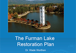 The Furman Lake Restoration Plan