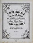 Sechs Gesänge, Op. 26, Heft 2 by Theodor Leschetizky 1830-1915
