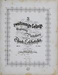 3 Zweistimmige Gesänge, Op. 27 by Theodor Leschetizky 1830-1915