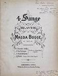 Melodi (4 Sange, Op. 9, No. 4) by Magda Bugge