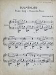 Blumenlied, Op. 39 by Gustav Lange (1830-1889)