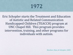 History of Autism Slide 11 by Kieran Cook and Alissa Willmerdinger