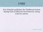 History of Autism Slide 13 by Kieran Cook and Alissa Willmerdinger