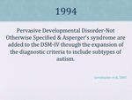 History of Autism Slide 15 by Kieran Cook and Alissa Willmerdinger