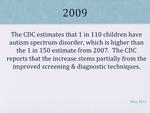 History of Autism Slide 18