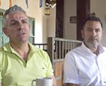 Jimmy Palacio and Luis Fernando López