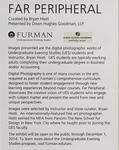 Art Exhibit: Far Peripheral by Bryan Hiott