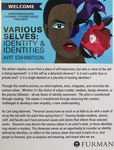 1. Art Exhibit: Various Selves: Identity & Identities by Undergraduate Evening Studies