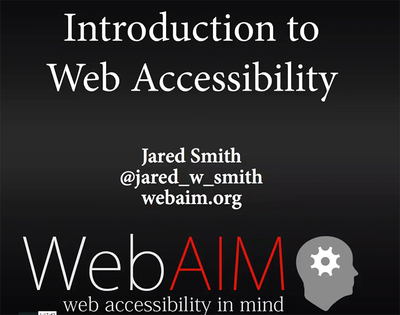 Web Accessibility in Libraries | Academic Events | Furman University