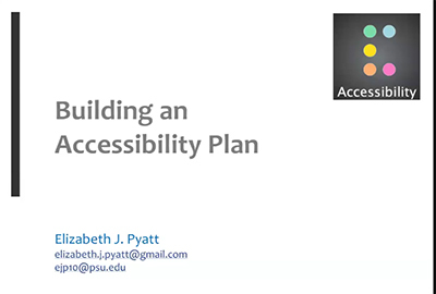 Web Accessibility in Libraries | Academic Events | Furman